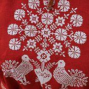 """Одежда ручной работы. Ярмарка Мастеров - ручная работа Вышитая блузка """"Голуби"""". Handmade."""