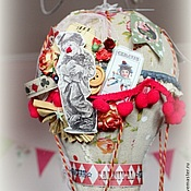 Сувениры и подарки ручной работы. Ярмарка Мастеров - ручная работа Интерьерный воздушный шар VINTAGE CIRCUS. Handmade.