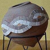 """Для дома и интерьера ручной работы. Ярмарка Мастеров - ручная работа Сосуд """"Греческий"""". Handmade."""
