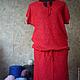 Платья ручной работы. Вязаное платье авторское Красивое. IRINASHIROKOVA. Интернет-магазин Ярмарка Мастеров. Однотонный, вязаное платье