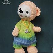 Куклы и игрушки ручной работы. Ярмарка Мастеров - ручная работа Медвежонок Никита - вязаная игрушка. Handmade.