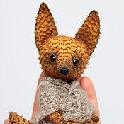 Куклы и игрушки ручной работы. Ярмарка Мастеров - ручная работа Лисёнок Люк. Handmade.