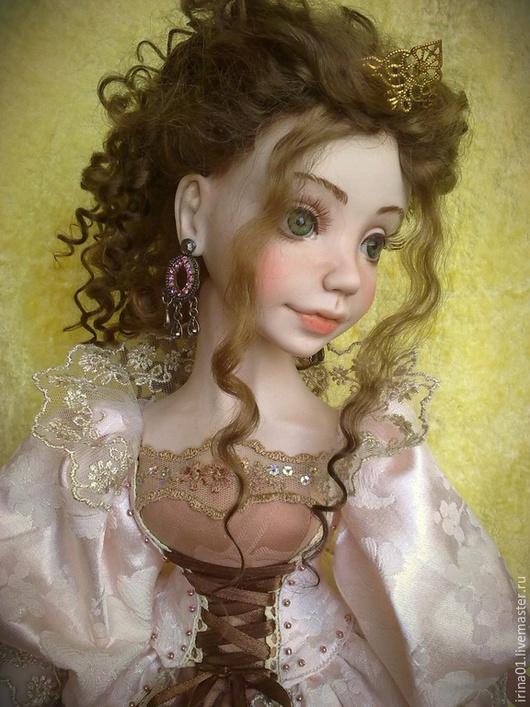 Коллекционные куклы ручной работы. Ярмарка Мастеров - ручная работа. Купить Принцесса Аделия. Handmade. Кремовый, мечта