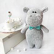 Куклы и игрушки handmade. Livemaster - original item Hippo