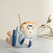 Подарки к праздникам handmade. Livemaster - original item Porcelain little angel. Handmade.