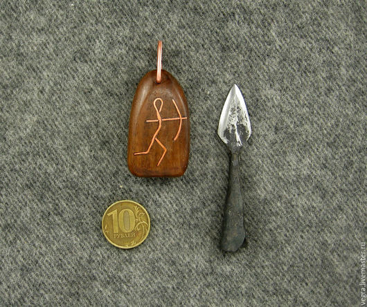 """Обереги, талисманы, амулеты ручной работы. Ярмарка Мастеров - ручная работа. Купить нож амулет """"Стрелец"""". Handmade. Нож, медь"""