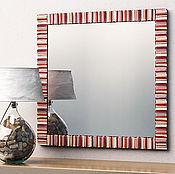 Для дома и интерьера ручной работы. Ярмарка Мастеров - ручная работа Зеркало в квадратной раме. Handmade.