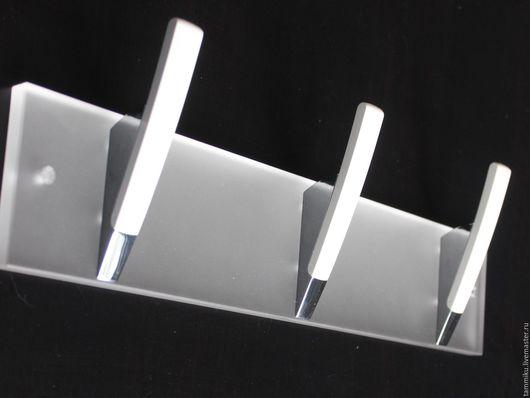 Ванная комната ручной работы. Ярмарка Мастеров - ручная работа. Купить Настенная вешалка для ванной на 3 крючка. Handmade. Вешалка