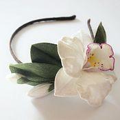 Украшения ручной работы. Ярмарка Мастеров - ручная работа Ободок орхидея 2. Handmade.