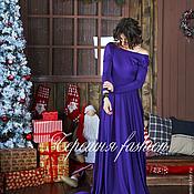 Одежда ручной работы. Ярмарка Мастеров - ручная работа Платье в пол, с открытой спиной.. Handmade.