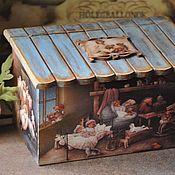 Для дома и интерьера handmade. Livemaster - original item Box , Who lives in the attic,. Handmade.