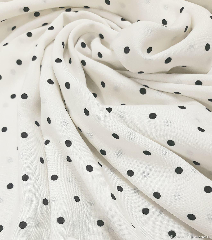 Viscose - black-eyed peas milk, Fabric, Moscow,  Фото №1