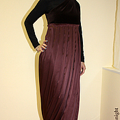 Одежда handmade. Livemaster - original item Evening silk dress. Handmade.