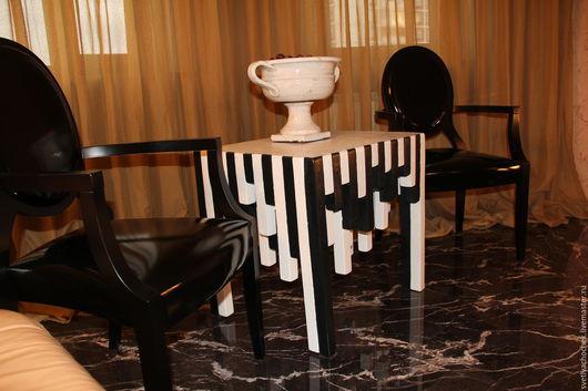 Мебель ручной работы. Ярмарка Мастеров - ручная работа. Купить Интерьерный столик. Handmade. Столик из дерева, ручная работа