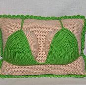 Подарки к праздникам ручной работы. Ярмарка Мастеров - ручная работа подушка-бюст. Handmade.