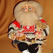 Куклы и игрушки ручной работы. Ярмарка Мастеров - ручная работа Домовой с денежным мешочком.. Handmade.