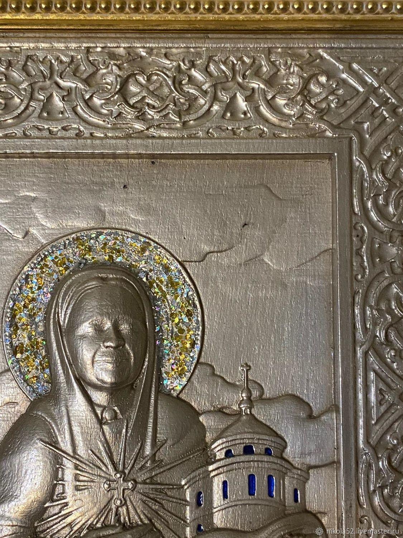"""Икона """"Матрона Московская"""", Иконы, Краснодар,  Фото №1"""