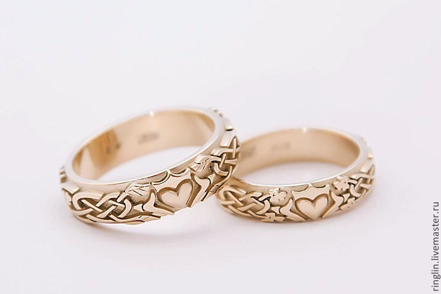 Gold Claddagh ring, Rings, Moscow,  Фото №1