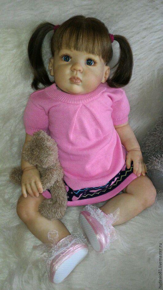 Куклы-младенцы и reborn ручной работы. Ярмарка Мастеров - ручная работа. Купить Таечка. Handmade. Бежевый, стекло