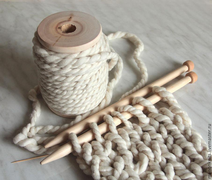 толстая мериносовая пряжа для ручного вязания купить