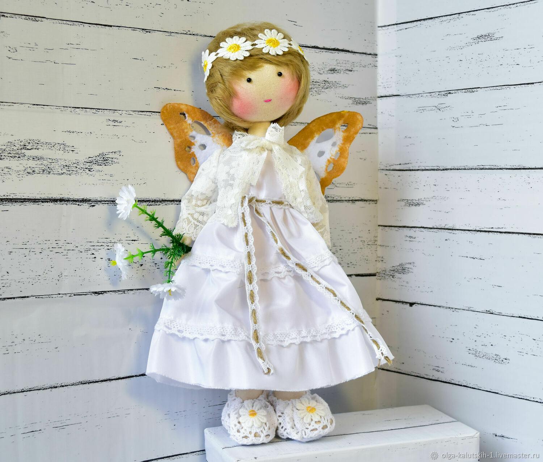 Текстильная кукла Ребекка, Куклы и пупсы, Москва,  Фото №1