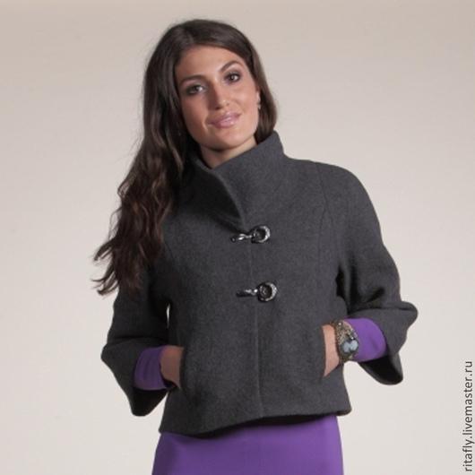 Пиджаки, жакеты ручной работы. Ярмарка Мастеров - ручная работа. Купить 128: Жакет шерсть, женский жакет короткий, жакет на весну-осень. Handmade.