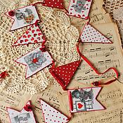 """Подарки к праздникам ручной работы. Ярмарка Мастеров - ручная работа Гирлянда """"Для тебя..."""". Handmade."""