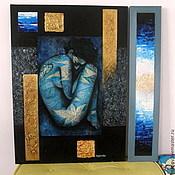 """Картины и панно ручной работы. Ярмарка Мастеров - ручная работа Картина """"Боди арт"""". Handmade."""