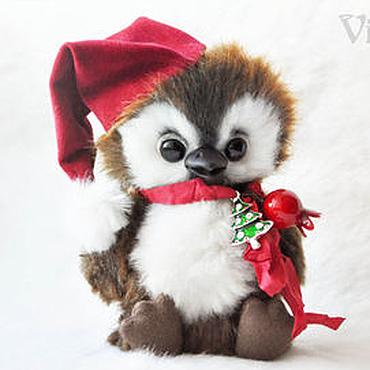 Куклы и игрушки ручной работы. Ярмарка Мастеров - ручная работа Новогодние Пингвинята  Клёпа и Кнопа. Handmade.