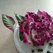 Украшения handmade. Livemaster - original item Velvet Bud rose. Handmade.