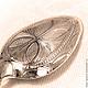 Серебряная чайная ложка `Козерог` с гравированным черпалом. Подарок на День рождения. Подарок на Юбилей. Подарок на Новый год.