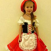 Одежда handmade. Livemaster - original item costume little Red riding hood. Handmade.