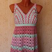 Одежда ручной работы. Ярмарка Мастеров - ручная работа топ разноцветный комбинированный. Handmade.