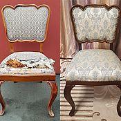 Стулья ручной работы. Ярмарка Мастеров - ручная работа Ремонт и перетяжка стульев. Handmade.