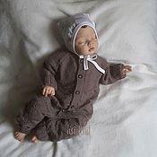 Работы для детей, handmade. Livemaster - original item Knitted TIC-TAC-Toe jumpsuit. Handmade.