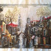 Картины и панно ручной работы. Ярмарка Мастеров - ручная работа В тумане. Handmade.