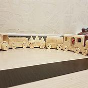 Техника, роботы, транспорт ручной работы. Ярмарка Мастеров - ручная работа Паровозик. Handmade.