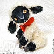 Куклы и игрушки ручной работы. Ярмарка Мастеров - ручная работа Овечка-тедди Лизавета. Handmade.