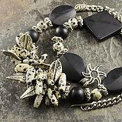 Украшения handmade. Livemaster - original item necklace calliope agate and Jasper. Handmade.