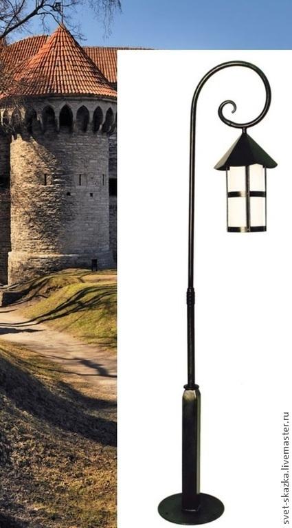 """Освещение ручной работы. Ярмарка Мастеров - ручная работа. Купить Уличный фонарь """"Старый Таллин"""" 170. Handmade. Уличный фонари"""