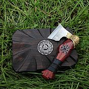 Сувениры и подарки handmade. Livemaster - original item A straight razor in a wooden box. Handmade.