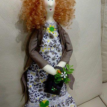 Куклы и игрушки ручной работы. Ярмарка Мастеров - ручная работа Тильды: Кукла Питерское лето. Handmade.