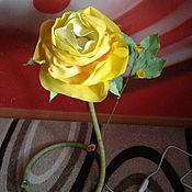 Ночники ручной работы. Ярмарка Мастеров - ручная работа Ночники: Роза. Handmade.