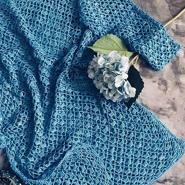 Одежда ручной работы. Ярмарка Мастеров - ручная работа Туника « Голубая лагуна». Handmade.