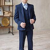 Штаны ручной работы. Ярмарка Мастеров - ручная работа Школьные брюки для мальчика. Handmade.