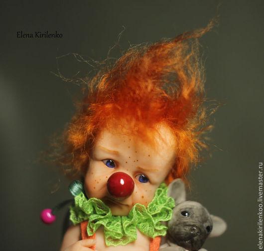 Коллекционные куклы ручной работы. Ярмарка Мастеров - ручная работа. Купить Jim. Handmade. Рыжий