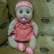 Куклы и игрушки ручной работы. Ярмарка Мастеров - ручная работа вязаные куколки. Handmade.