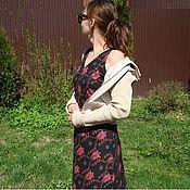 Платья ручной работы. Ярмарка Мастеров - ручная работа Летнее платье из хлопка. Handmade.