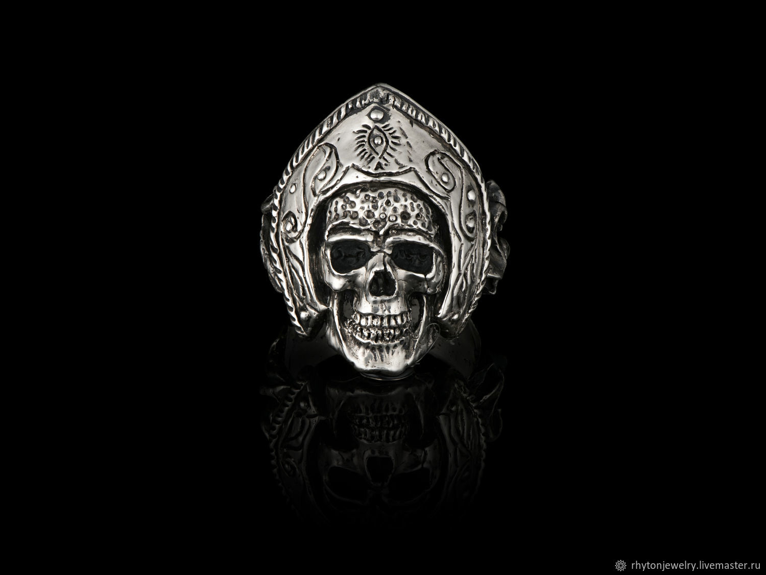 The skull ring 'From Russia with Love', Rings, Kostroma,  Фото №1