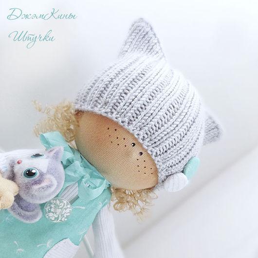 ДжэмКина Штучка. куколка Эшли. авторская интерьерная игрушка ручной работы